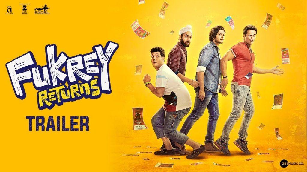 Movie Review of Fukrey Returns