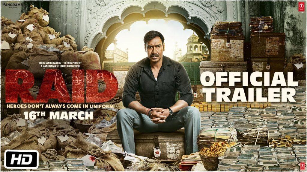 Movie Review of Raid