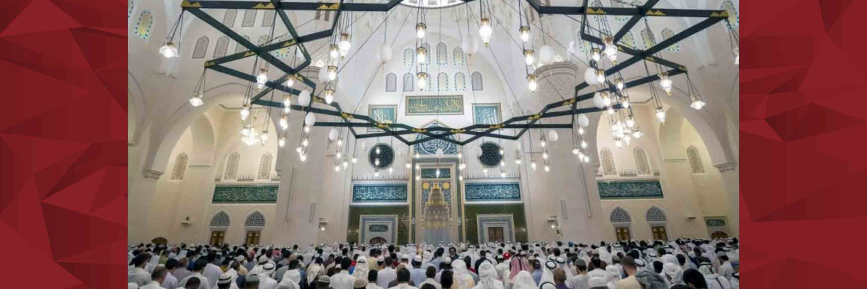Largest mosque in the Emirate
