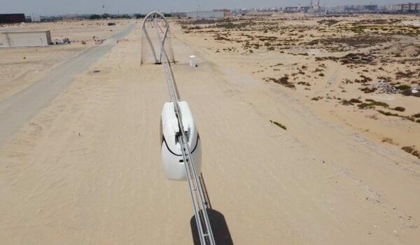 A Sneak Peak at UAE's High Speed Electric SkyPods